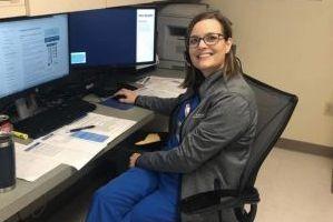 leanne burke, pre-licensure program director at uci school of nursing