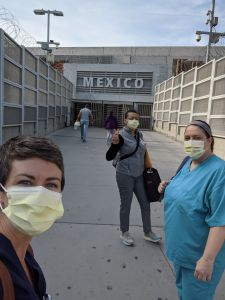nurse danisha jenkins and her fellow nurses going to Mexico