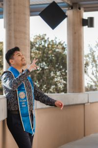 kevin nolasco, uci school of nursing student and graduate