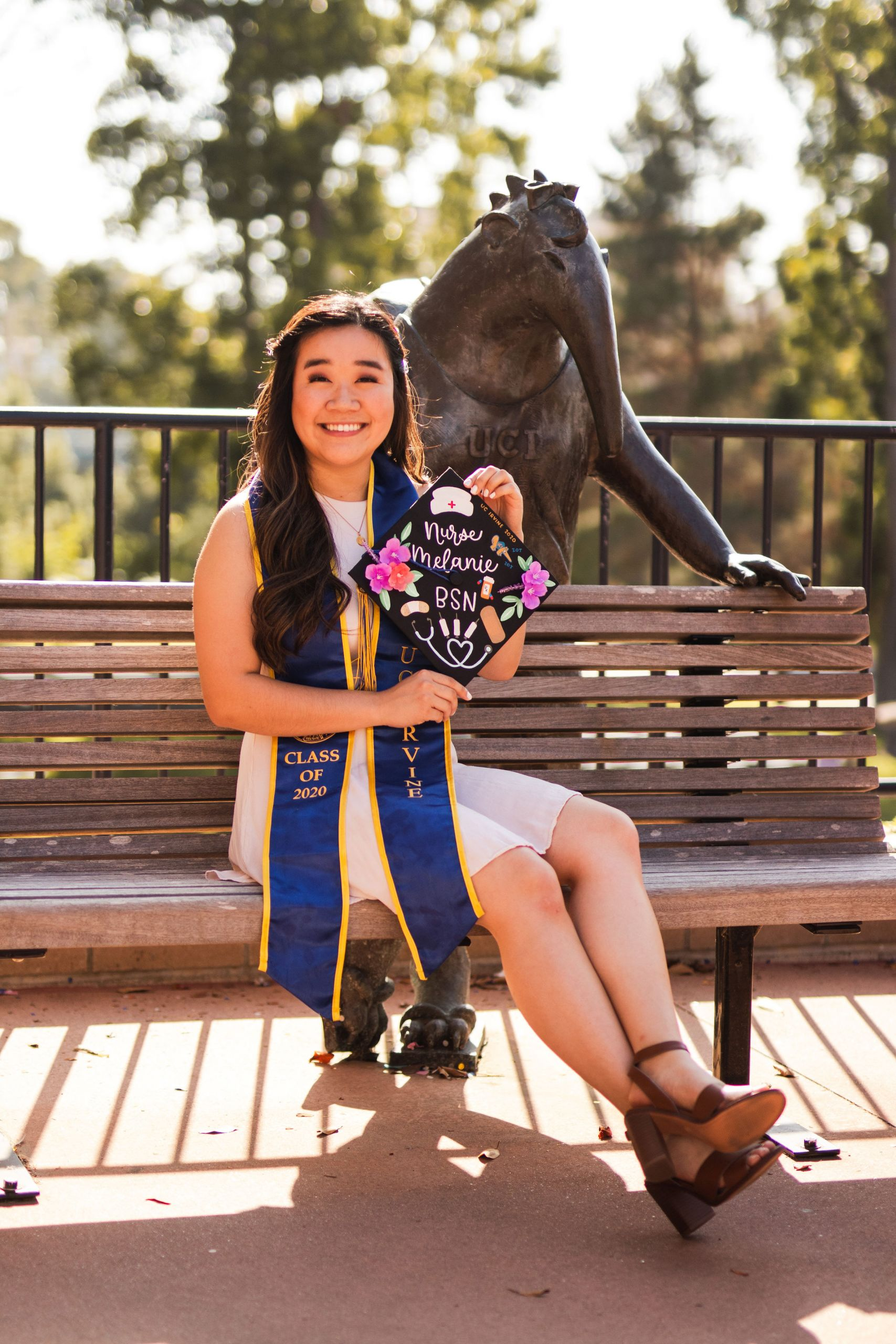 uci school of nursing graduate melanie tram