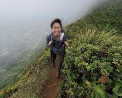 Elaine Lau uci school of nursing alumni hiking in hawaii