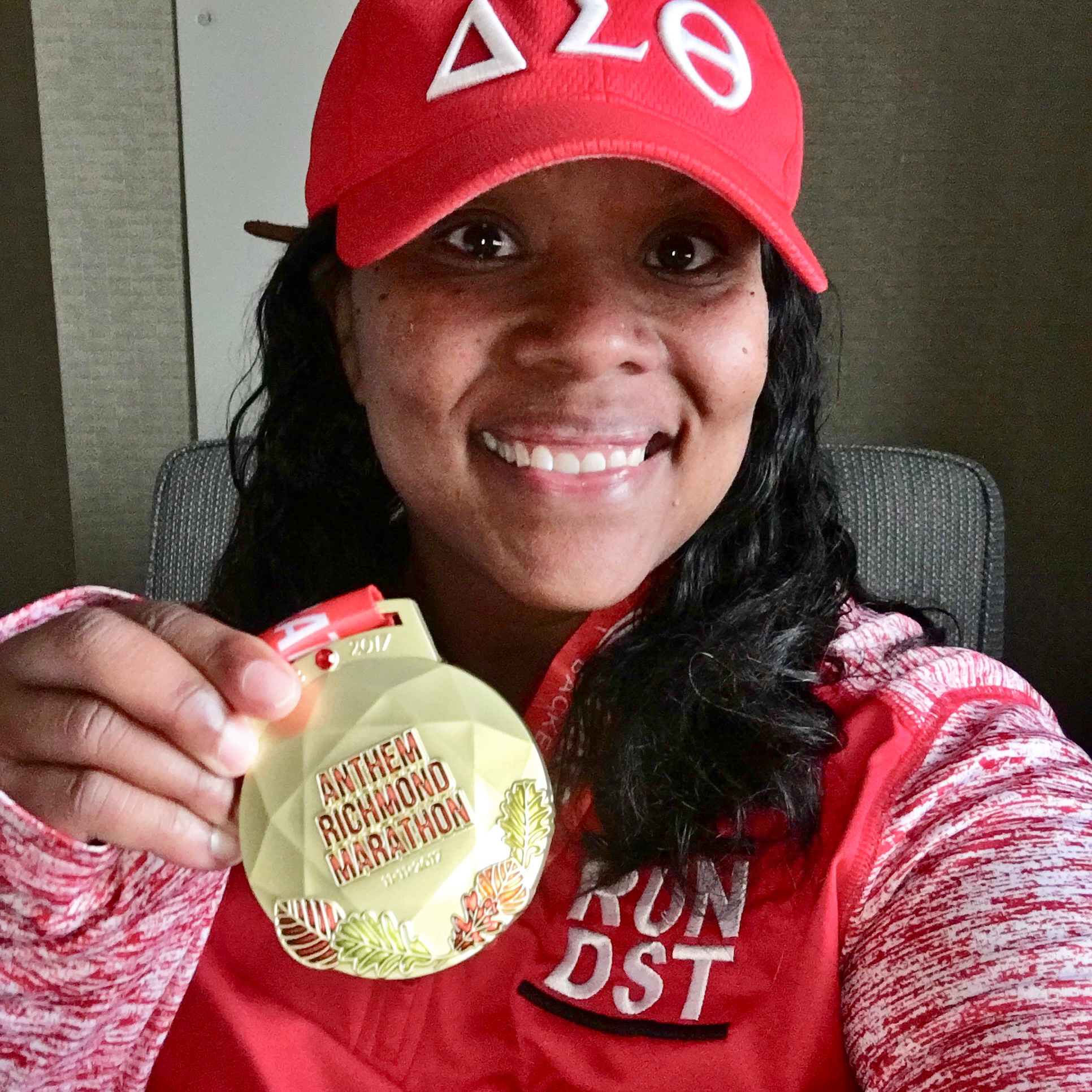 uc irvine school of nursing assistant professor nakia best after running richmond virginia marathon 2017
