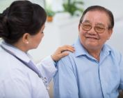 nurse reassuring vietnamese patient valerie pham phd student has been awarded the uci campus incubator award