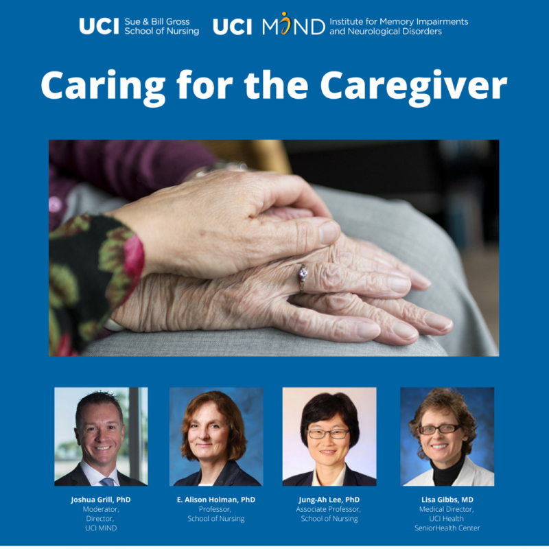 webinar for caregivers of loved ones with dementia