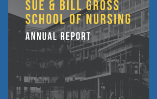 cover of the uci sue and bill gross school of nursing