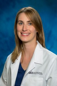 uci school of nursing mepn student claire gilpin