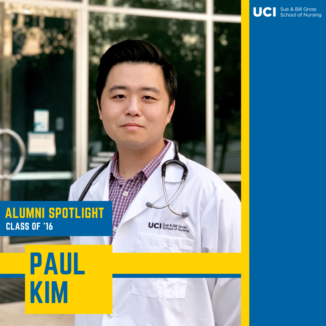 paul kim uc irvine school of nursing alumni and dnp student