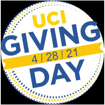 uc irvine giving day 2021 logo