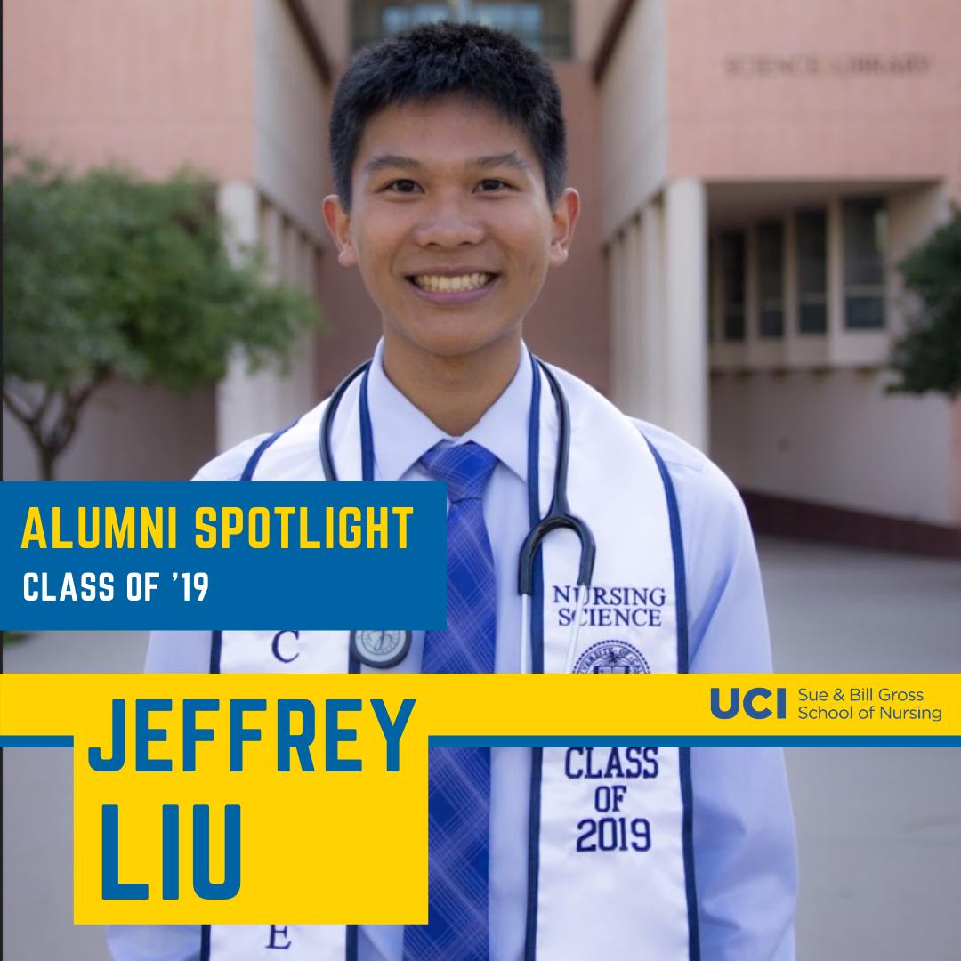 alumni spotlight UC Irvine school of nursing alum jeffery liu class of 2019