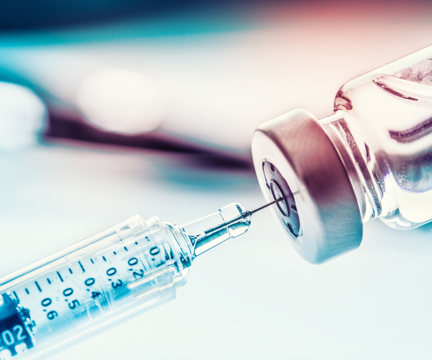 image of needle pulling covid-19 vaccine; a uc irvine team co-led by the school of nursing has received a grant to continue COVID research