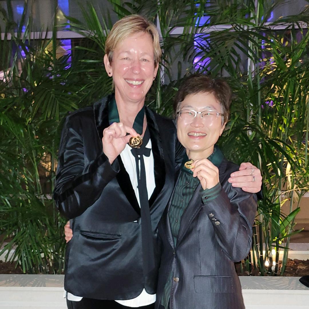 uc irvine school of nursing professors miriam bender and jung-ah lee are fellows in the american academy of nursing